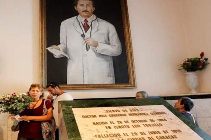 Venezuela cumplió con recaudos para la beatificación de José Gregorio Hernández