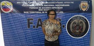 Mujer con 60 envoltorios de droga es detenida por las FAES