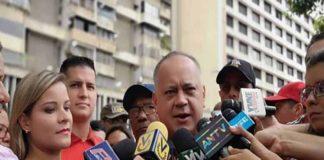 """Cabello dice que """"la brisa bolivariana va a llegar a la Unión Europea"""""""