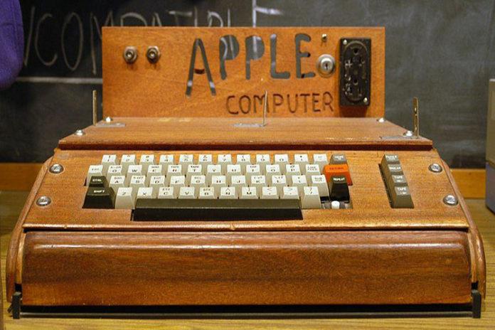 Subastarán el primer computador que creó Apple
