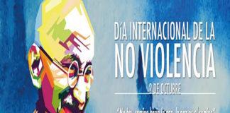 2 Oct: Día Internacional de la No violencia