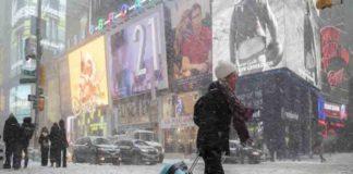 Alertan por intenso y nevado invierno en más de 15 estados de EEUU