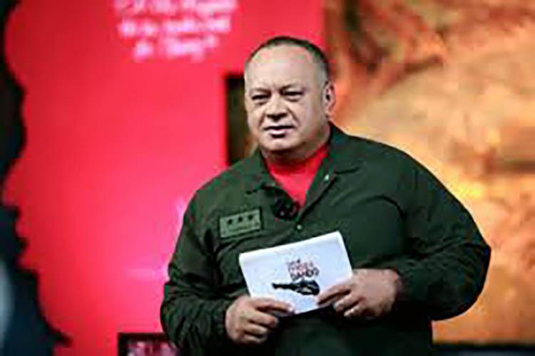 Cabello rechazó que se vincule a Maduro con la crisis en Ecuador