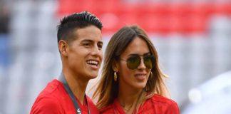 Shannon de Lima y James Rodríguez presentan su segundo hijo