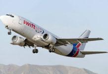 La insólita reacción de pasajeros del avión de la aerolínea Swift Air que realizó trayecto con un solo motor