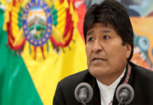 Video: Evo Morales salió ileso luego de que helicóptero presidencial aterrizara de emergencia