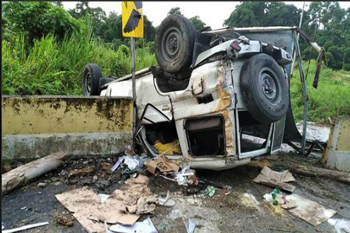 Dos militares muertos en accidente de tránsito en la GMA