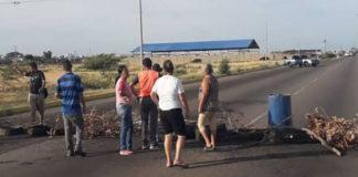 Estos son los sectores de Punto Fijo que protestaron por falta de agua este 11-Nov