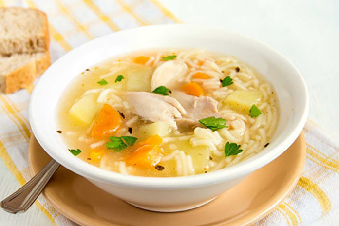 Hoy 12-Nov Día Mundial del Caldo de Pollo