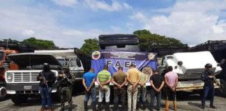 Desmantelada banda que transportaba 110 mil litros de combustible de Mérida