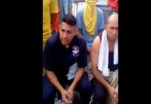 Vea el trato que le dan los reos del Táchira a custodios secuestrados (+Video)