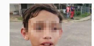 """Me metió la cabeza en un tubo de agua"", relato de un niño al ser torturado por un GNB en Anzoátegui (+Video)"