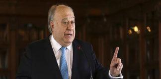 Calderón Berti ofrecerá rueda de prensa este viernes sobre su destitución