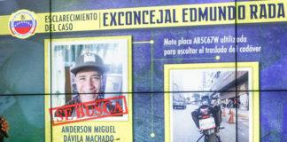 Asesino de exconcejal Rada huyó a Colombia