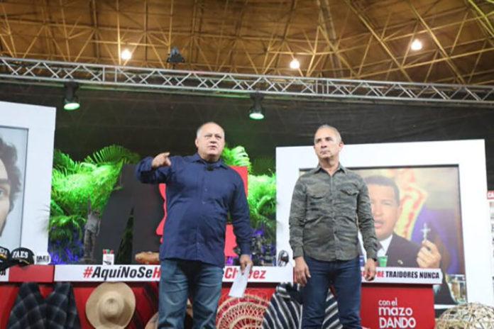 Cabello: Pronto vendrán vientos de la revolución en Colombia y El Salvador