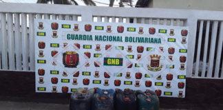 GNB incauta 480 litros de combustible en Falcón
