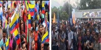 Así van los estudiantes opositores y oficialistas en jornada de movilización (+Videos)