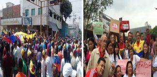Hoy 16-Nov oposición y oficialismo marchan (+Falcón)