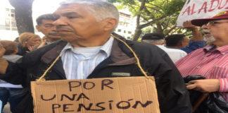 Pensionados marchan este miércoles hasta la Defensoría del Pueblo