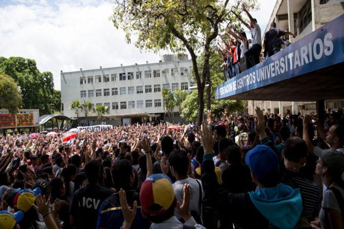 Estudiantes marcharán este jueves en defensa de la autonomía universitaria