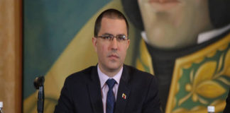 Arreaza insiste en que Doctrina Monroe no se impondrá en la región