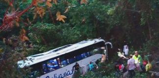 Venezolanos resultaron heridos en vuelco de bús en Colombia (+Video)