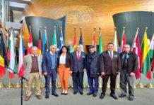 Delegación de Maduro está en el Parlamento Europeo