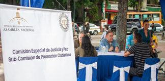 AN desplegó puntos itinerantes de consulta sobre justicia transicional en Caracas
