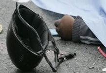 Motorizado muere a chocar con un camión de basura en autopista Caracas-La Guaira