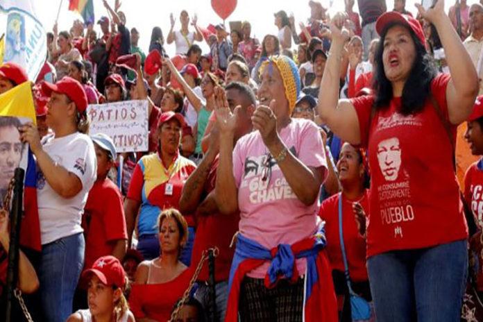 Psuv marcha este lunes en apoyo a las mujeres bolivianas