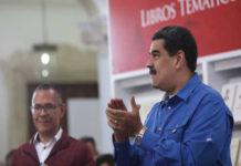 Maduro insiste en que «negocia» con Guaidó