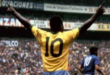 Venden en 30.000 euros la última camiseta utilizada por Pelé con Brasil