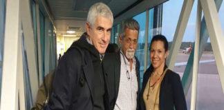 Diputados De Grazia y Magallanes llegaron a Italia