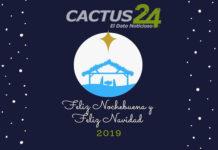 ¡Feliz Nochebuena y Navidad 2019! te desea Cactus24