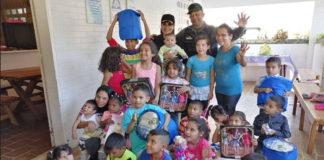 GNB entregó juguetes a 35 niños del Hospital Dr. Tulio Carnevalli Salvatierra en Mérida
