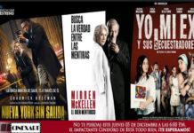Los estrenos de este fin de semana en Cinex