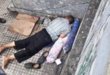 Adulto mayor fue arrollado y pasó la noche en la calle lesionado