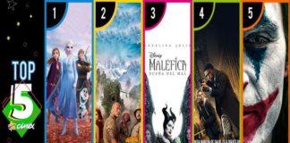 Frozen 2 superó los mil millones de dólares en taquilla y se mantiene en el top5
