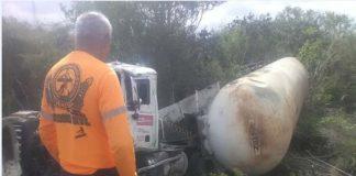 Tres lesionados durante colisión en sector Araguán de Píritu