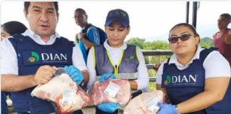 La Migración de Colombia prohibió el ingreso de la carne porcina proveniente de Venezuela por ser carne de Rusia,