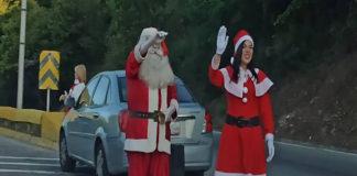 Llegó diciembre y Santa te da la bienvenida en la Cota Mil (+Twitter)