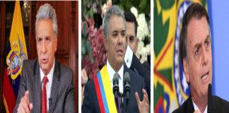 Ecuador, Brasil y Colombia rechazan afirmación de participación asalto del Batallón militar en Venezuela