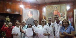 Otorgan titularidad a 730 trabajadores de Barrio Adentro