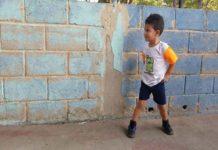 Jeremías, el niño que desea cumplir el sueño de volver a correr en el Chamotón 2019