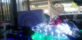 ¡Ni las luces se ven! en los comercios en Punto Fijo para esta navidad
