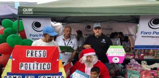 Foro Penal recolectó y entregó juguetes a los hijos de los presos políticos en Venezuela