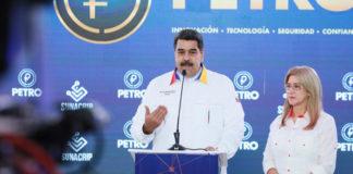 """""""Pendientes @CarnetDLaPatria el Pdte.@NicolasMaduro Entregará medio Petro a los Carnetizados"""", así publicó la cuenta en Twitter"""