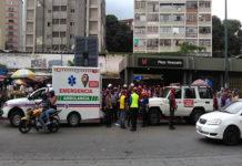 Descarrilamiento del Metro de Caracas deja seis heridos (+Fotos)