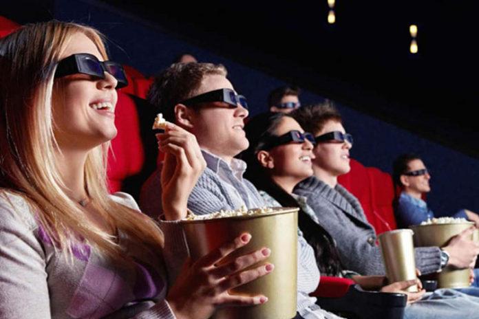 Ir al cine es tan bueno como hacer ejercicio, revela un estudio