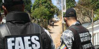 Anzoátegui: Presunto delincuente murió en tiroteo con las FAES